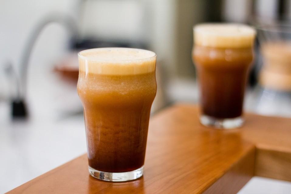 Dolcezza Nitro Coffee (Credit Farrah Skeiky for Dolcezza)