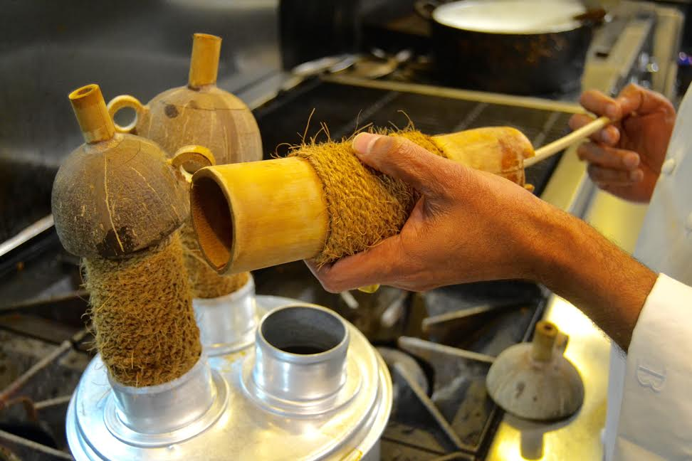 Bamboo Steamer at Indique - Photo Credit Mariah Hayes 2