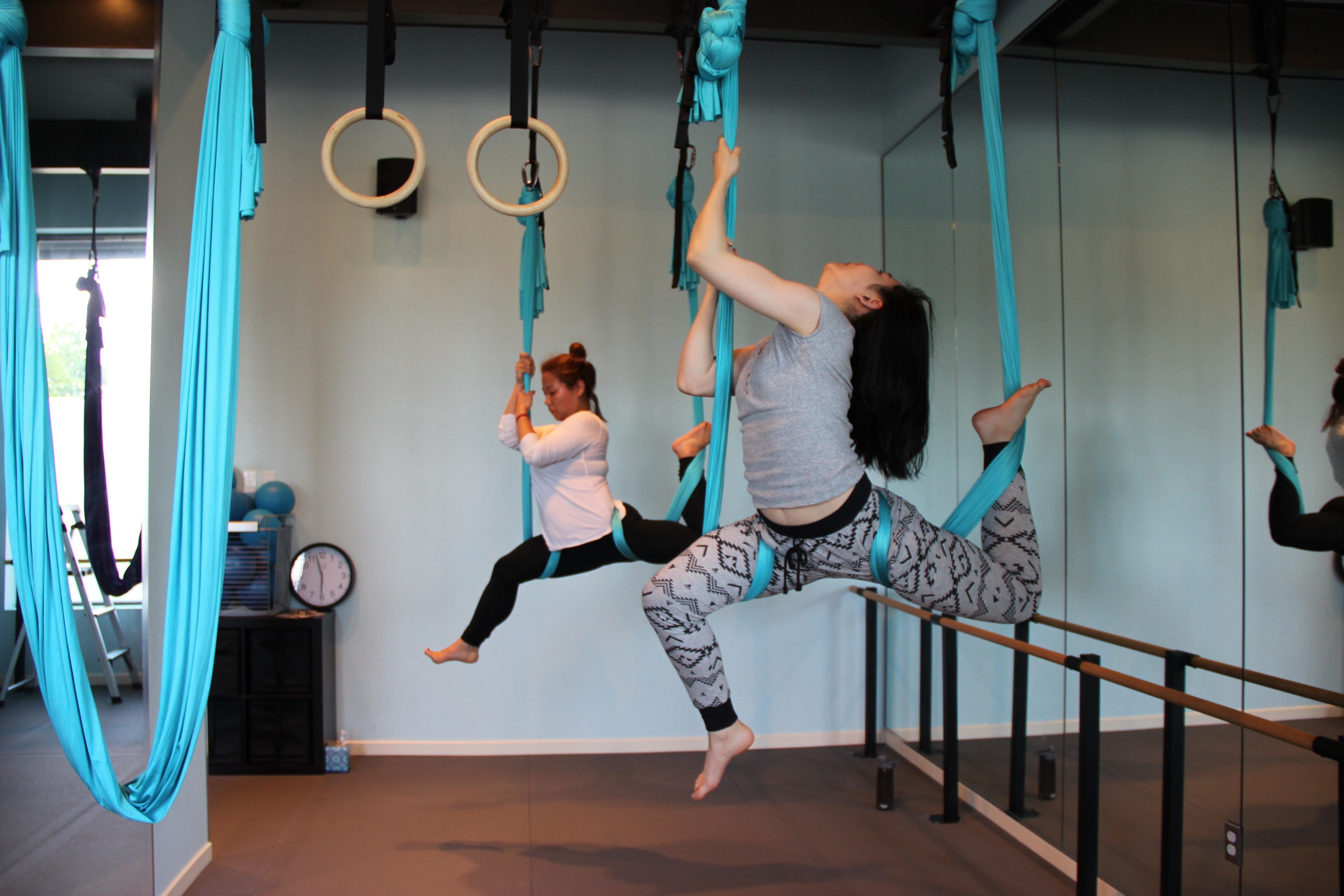 aerial bikram hammock yoga brighton east sussex