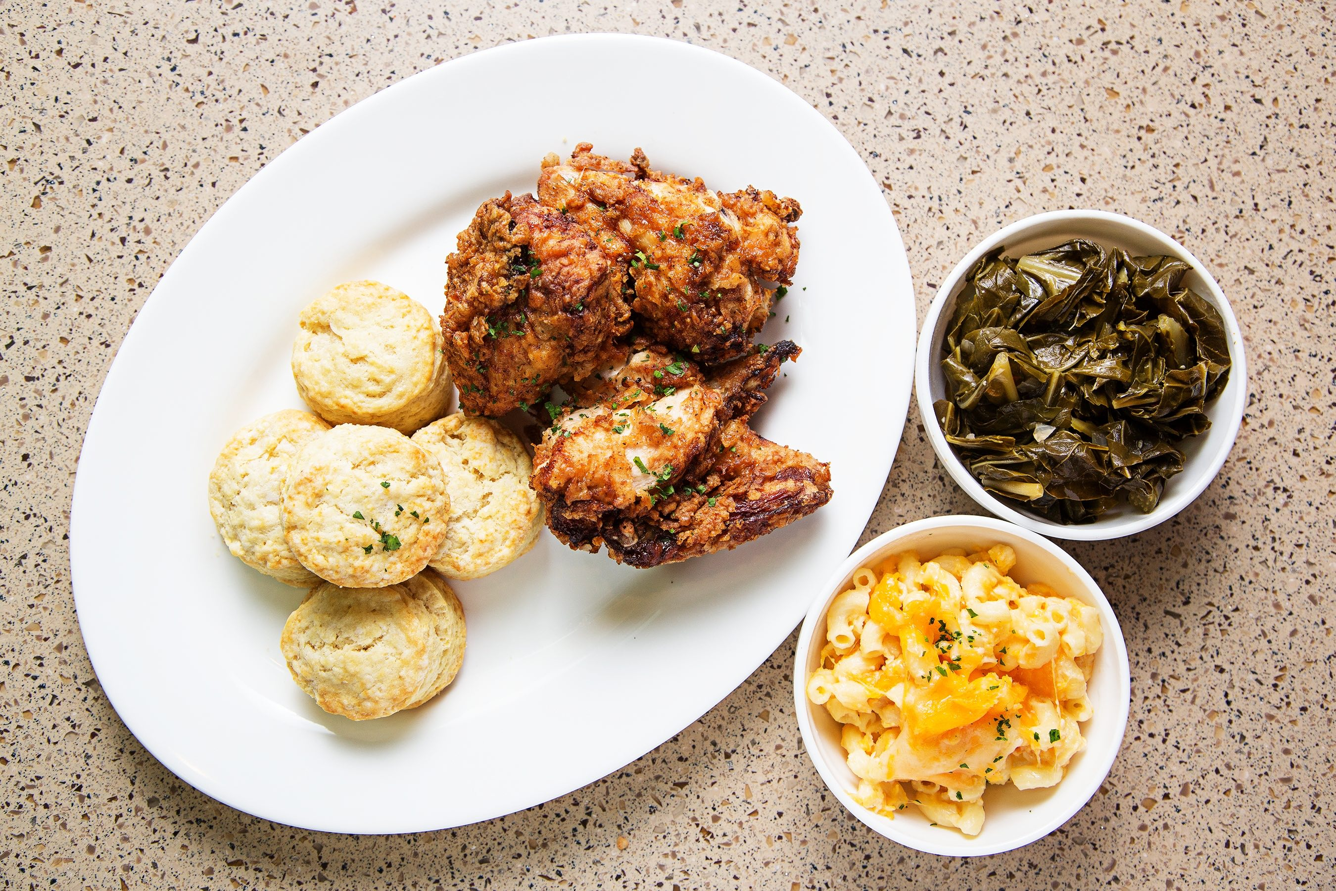 Gospel Bird Platter, Courtesy of the National Museum of African American History and Culture's Sweet Home Cafe