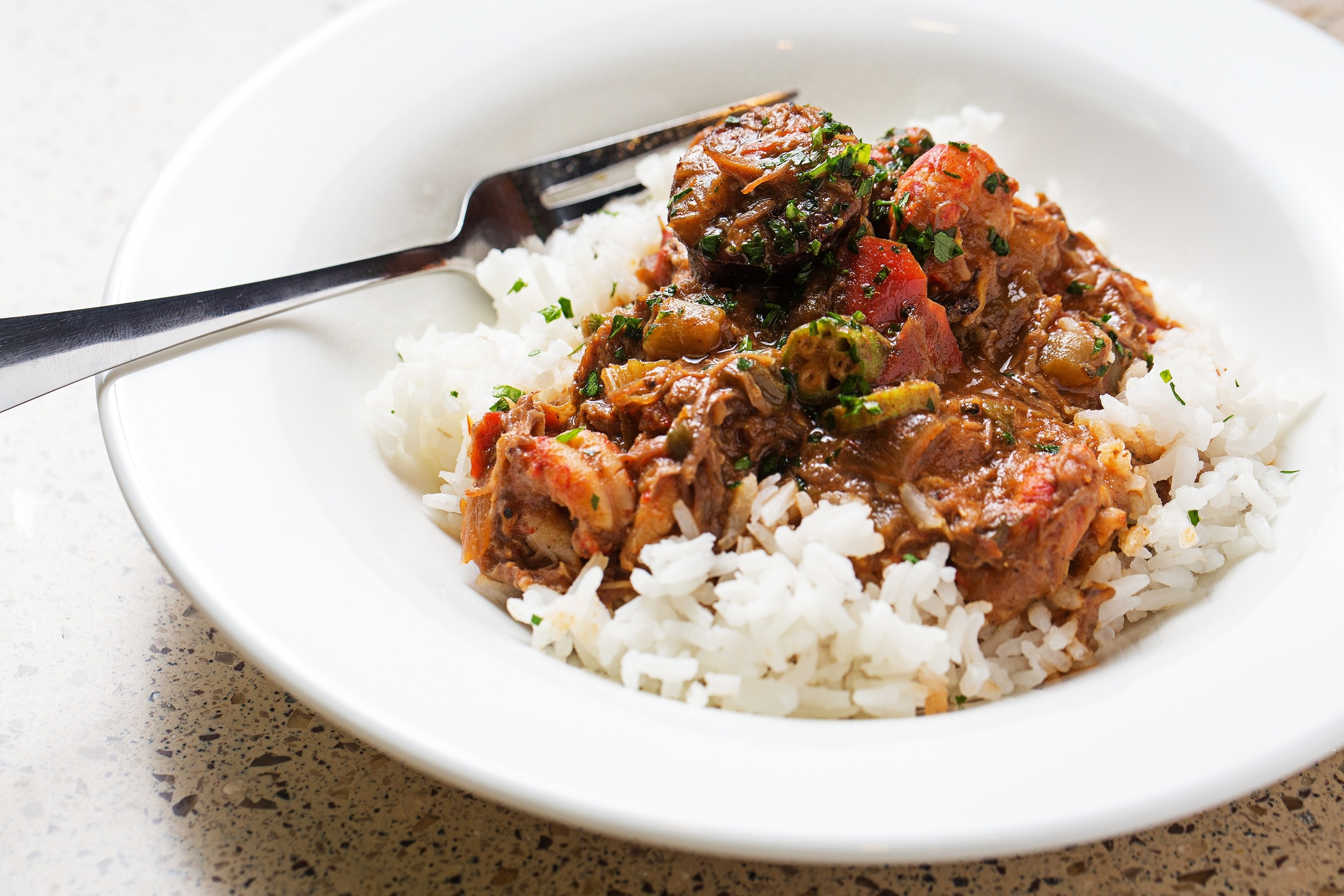 Gumbo, Courtesy of the National Museum of African American History and Culture's Sweet Home Cafe