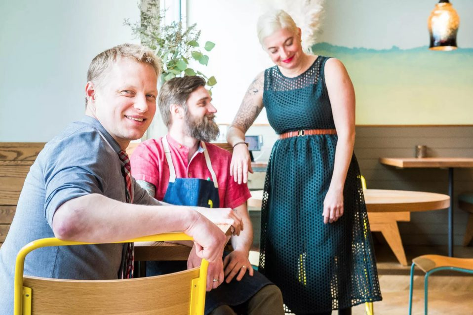 Tail Up Goat Co-Founders