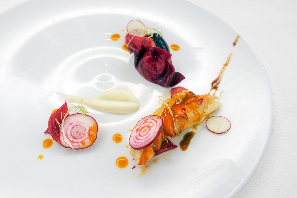 Lobster Ravioli, Courtesy The Backroom at Kingbird
