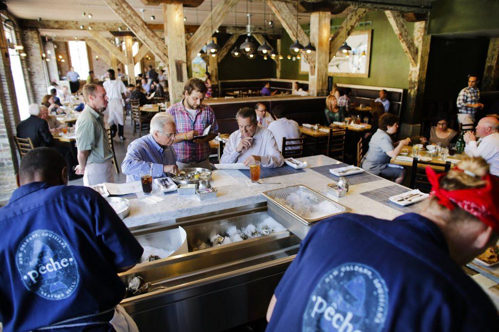 Pêche Oyster Bar. Photo Courtesy of Pêche.