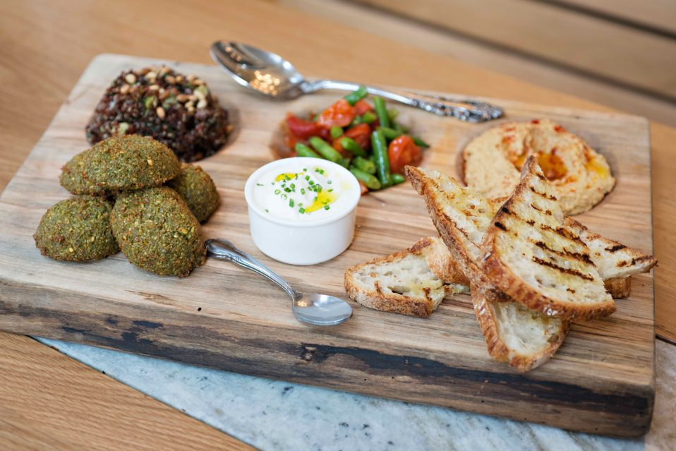 Mediterranean Tasting Board, Courtesy Tredici Enoteca 2